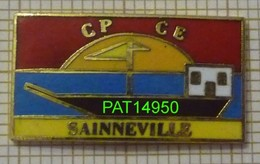 ECOLE CP CE  SAINNEVILLE Dpt 76  Bateau - Administrations
