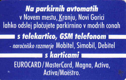 Slovenia,  Impulz Chip Card, 50 Impuls - Slovénie