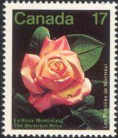 Canada 1980 - One International Flower Show Montreal Flowers Plants Flora Nature Rose Roses Stamp MNH SG#1019 SC 896 - 1952-.... Reign Of Elizabeth II