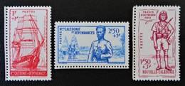 DEFENSE DE L'EMPIRE 1941 - NEUFS ** - YT 190/92 - MI 232/34 - New Caledonia