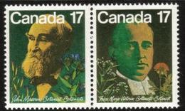 Canada 1981 Famous Canadians People Botanists Frere Marie-Victorin John Macoun Plants Stamps MNH Mi 806-807 SG#1017-18 - 1952-.... Reign Of Elizabeth II