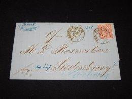 Germany Norddeutscher 1868 Braunschweig Letter__(L-12602) - Norddeutscher Postbezirk
