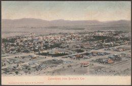 Queenstown From Bowker's Kop, Cape Province, C.1905 - Sallo Epstein U/B Postcard - South Africa
