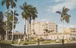 San Salvador - Parque Libertad Y Edificio El Cafe 1961 - Salvador