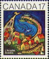 Canada 1981 - One 100th Anniv Of The First Acadia Community Convention Art Celebrations Organizations Stamp MNH SG 1021 - 1952-.... Reign Of Elizabeth II