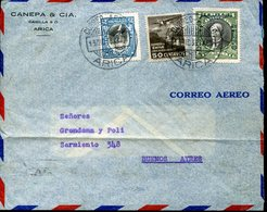 34482 Chile, Circuled Cover 1933 From Arica To Argentina, - Chile