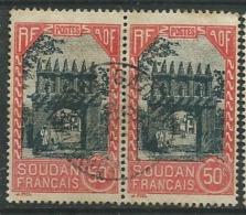 Soudan Français  - Yvert N°  72 Paire  Obliteré   -   Aab16508 - Usati