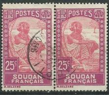 Soudan Français  - Yvert N°  67 Paire   Obliteré   -   Aab16512 - Usati