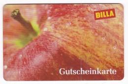 Geschenkkarte  Billa  Gift - Gift Cards