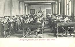 """Abbaye De Maredsous, école Abbatiale - Salle D'étude (""""animée"""") - Anhée"""