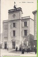 --   63 ---THIERS -- L'HOTEL DE VILLE    -- ANIMATION - Thiers