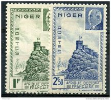 Niger (1941) N 93 à 94 * (charniere) - Neufs