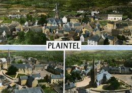 CPSM  En Avion Au-dessus De...PLAINTEL - Multi-vues - France