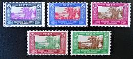 CASE DE CHEF INDIGENE 1928/38 - NEUFS * - YT 147A + 150A/51A + 152A/52B - Christmas Island