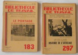 Lot De 13 Revues - Bibliothèque De Travail - Transports - 1949 à 1967 - 23 X 15,5 Cm - Boeken, Tijdschriften, Stripverhalen