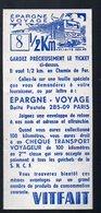 EPARGNE VOYAGE Bon VITFAIT Pour 1/2 Km De Transport En Chemin De Fer  (PPP13084) - Other