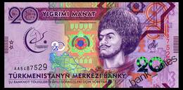 TURKMENISTAN 20 MANAT 2017 Pick 39 Unc - Turkmenistan