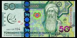 TURKMENISTAN 50 MANAT 2017 Pick 40 Unc - Turkmenistan