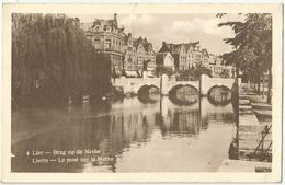 8Eb-702: 4 Lier - Brug Op De Nethe  Lierre - Le Pont Sur....+ LIER ZIMMERTOREN 1948 - Lier