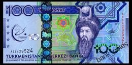 TURKMENISTAN 100 MANAT 2017 Pick 41 Unc - Turkmenistan