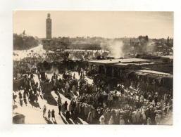 (maroc) MARRAKECH Sites Et Folklore 1963 - Marrakech