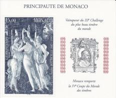 Monaco - Bloc N°77   - Botticelli - Neuf ** - MNH - Blocchi