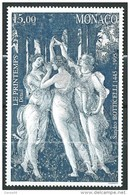 Monaco - 1995 - Sandro Botticelli - N° 2010   - Neuf ** - MNH - Monaco