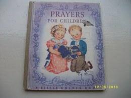 Prayers For Children - Livres De Prières