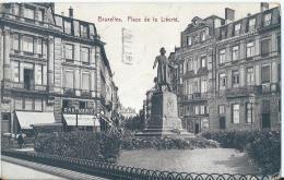 Bruxelles - Brussel - Place De La Liberté - Edit. Fischer & Krämer - 1913 - Marktpleinen, Pleinen