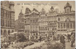 Bruxelles - Brussel - Grand'Place Et Maisons Des Corporations - 38 - P.I.B. - 1931 - Marktpleinen, Pleinen
