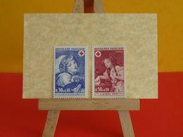 Timbres Neuf 1971 > N°1700 & 1701 - Y&T - Croix Rouge (Jeune Fille Et Le Chien,l'oiseau Mort)- Coté 1,60€ - France