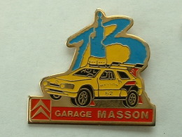 PIN'S CITROËN - GARAGE MASSON - Citroën
