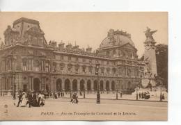 Postcard - Paris - Arc De Triomphe Du Carrousel Et Le Louvre - Unused Very Good - Cartes Postales