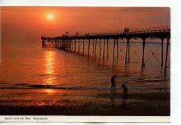 Postcard - Sunset Over The Pier, Hunstanton - Unused Very Good - Cartoline