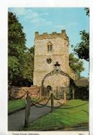 Postcard - Thorpe Church, Derbyshire - Unused Very Good - Cartes Postales