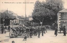 ¤¤   -  CHATOU    -   La Gare   -  Station Des Voitures   -  Attelages   -  ¤¤ - Chatou