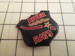 Pin811e Pin's Pins / Beau Et Rare : Thème MILITARIA / ARMEE VAINCUE AU VIETNAM ... USA RIVER RATS - Army