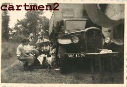 PHOTO ANCIENNE AUTOMOBILE VOITURE CAR Citroën Renault Delage Dion-bouton Hotchkiss Berliet Traction Panhard Delahaye - Auto's