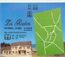 PIE18-T-3063 : LOGIS DE FRANCE. RESTAURANT LES ROULIERS. PRENOVEL  LES PIARDS. - France