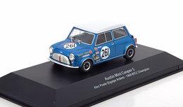 AUSTIN MINI COOPER S #261 POOLE WIN BTCC 1969 EDITIONS ATLAS 1/43 TEAM ARDEN - Cars & 4-wheels