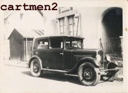 PHOTOGRAPHIE ANCIENNE AUTOMOBILE VOITURE CAR TACOT Citroën Renault Delage Dion-bouton Hotchkiss Berliet Traction - Auto's