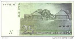 ESTONIA P. 84a 25 K 2002 UNC - Estonie