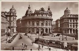 GENOVA-PIAZZA DE FERRARI-TRAM - Genova (Genoa)