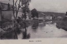 25. MOUTHE. CPA BRILLANTE. .LE DOUBS.  ANNEE 1908 - Mouthe