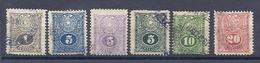 180029793  PARAGUAY  YVERT  Nº  186/186A/186B/186C/188/189 - Paraguay