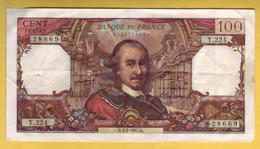 BILLET FRANCAIS - 100 Francs Corneille 2-2-1967 TTB+ - 1962-1997 ''Francs''