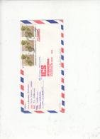 ZIMBABWE  1991 Lettera  Per USA - Flora - Piante - Zimbabwe (1980-...)