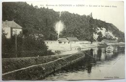 LE CANAL ET LES CAVES Á BLANC - ENVIRONS DE DORDIVES - LOROY - Dordives
