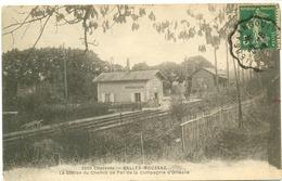 Salles-Moussac-la Gare Station De Chemin De Fer - Autres Communes