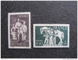 TB Paire N° 585 Et N° 586, Neufs XX. - France